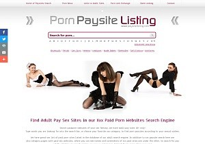 Porn Paysite Listing